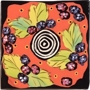 Dessert Fruit/Blackberry - Coaster