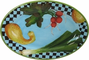 Garden Goodies - Small Oval Platter