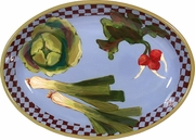 Garden Goodies - Deep Oval Platter