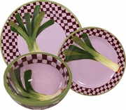 Garden Goodies/Leek - Place Setting