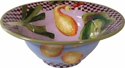 Garden Goodies - Tall Rimmed Bowl
