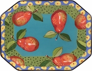 Speckled Pear - Octagon Platter
