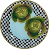 Garden Goodies/Lettuce - Rimmed Dinner Plate