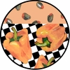 Picnic Pepper/Orange - Unrimmed Dinner Plate