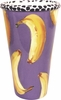 Banana/Purple - Cone Vase
