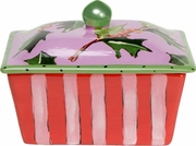 Holly - Butter Dish