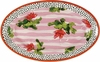 Striped Radish - Large Oval Platter