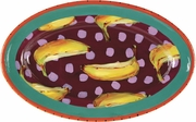 Dotted Banana - Large Oval Platter