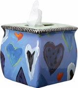 True Blue Valentine - Tissue Holder