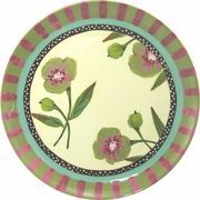 Fiona's Fancy/Olive - Unrimmed Dinner Plate