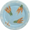 Vegetable Chutney/Carrot - Rimmed Dinner Plate