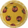 Vegetable Chutney/Tomato - Rimmed Dinner Plate