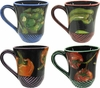 Marcia's Vegetables - Mug Set of 4