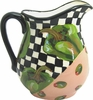 Picnic Pepper/Green - Large Pitcher