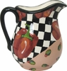 Picnic Pepper/Red - Large Pitcher