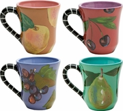 Jewel Fruit - Mug Set of 4