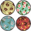 New England Meadow - Rimmed Salad Plate Set of 4