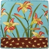 Daylily - Square Charger