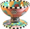 Happy Birthday - Pedestal Bowl