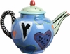 True Blue Valentine  - Small Teapot