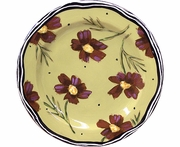 New England Meadow/Cosmos - Rimmed Salad Plate