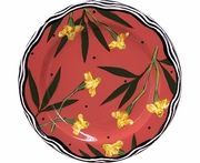 New England Meadow/Marigold - Rimmed Salad Plate