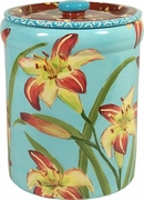 Daylily - Canister Cookie Jar