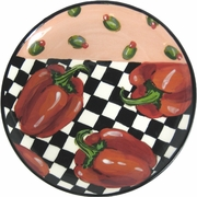 Picnic Pepper/Red - Unrimmed Dinner Plate