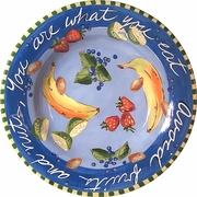 Fruit & Nut - Big Rimmed Bowl