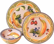 Fruit & Nut/Peach - Place Setting