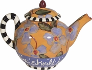 Words of Wisdom/Mother - Small Teapot
