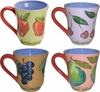 Fruit Squared - Mug Set of 4