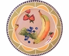 Fruit & Nut/Peach - Rimmed Salad Plate