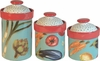 Vegetable Medley - Canister Set of 3