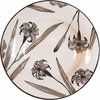 Lily on White - Big Rimmed Bowl