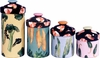 Shrimp/Vegetable - Canister Set of 4