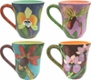 Harmony Orchid - Mug Set of 4