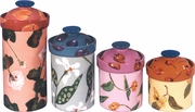 Fruit & Flower - Canister Set of 4