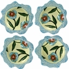 Fiona's Fancy/Turquoise - Dessert Cup Set of 4