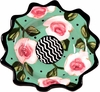 New England Meadow/Rose - Dessert Cup