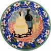 Marriage - Wide Rimmed Platter