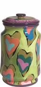 Lucky in Love - Medium Biscuit Jar