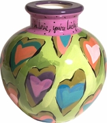 Lucky in Love - Bulb Vase