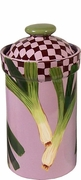 Garden Goodies/Leeks - Large Canister