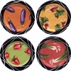 Taste of Thai - Rimmed Dinner Plate Set of 4