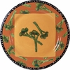 Very Veggie/Broccolini - Rimmed Dinner Plate