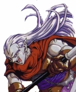 Chrono Trigger Magus Custom Styled Cosplay Wig
