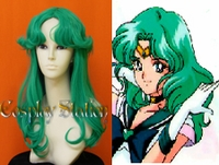 Sailor Moon SAILOR NEPTUNE Custom Made Cosplay Wig
