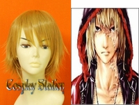 Death Note Mello Post-scar Cosplay Wig
