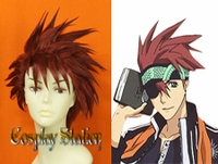 D.Gray Man Lavi Rabi Cosplay Wig